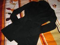 pulover lungut cu cordon