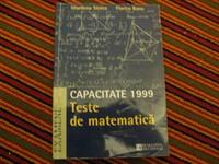 Capacitate 99 - teste de matematică