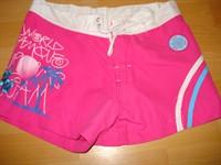 Pantaloni scurti roz draguti