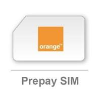 cartela prepay orange