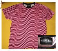 tricou roz negru
