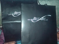 2 pungute cadou BELT ART