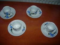 4 cescute pt cafea+4 farfurioare