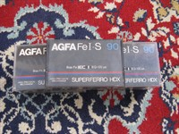 Casete AGFA neinregistrate
