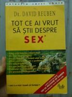 """Carte """"Tot ce ai vrut sa stii despre sex"""""""