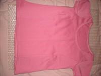 Tricou roz, marime mica