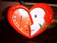 ofer ceas in forma de inimioara