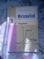 Manual algebra clasa a X-a