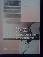 Controlul coroziunii si al acoperirilor anticorozive