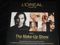 Cd The make-up show L'Oreal