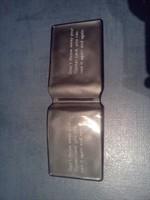 Suport din plastic pentru carduri