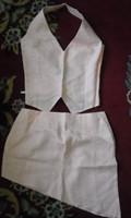 Set compleu: fusta si corset