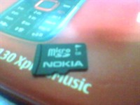 card memorie Nokia 1 GB