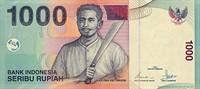 Bancnota 1000 rupii din Indonezia