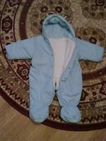 Costum fas pt bebe, bleu, mar. S
