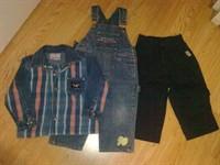 Camasa blug, salopeta, pantalon - pt  2 ani