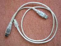Cablu dublu de alimentare USB pt aparat foto/ video/ mp3