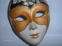 masca  venetiana de portelan