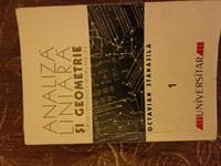 Analiza liniara si geometrie, Stanasila