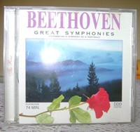 CD muzica Beethoven - Great Symphonies