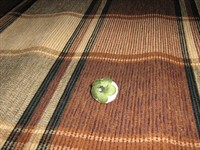 Brosa mica, din material textil cusut