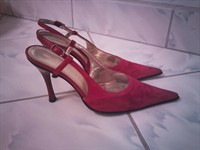 Pantofi rosii eleganti - marimea 35/36