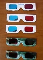Ochelari 3D Red-Cyan si Green-Magenta (5 buc)