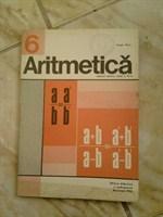 Manual aritmetica, cls. VI