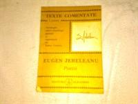 Texte comentate - Poezii - Eugen Jebeleanu