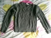 pulover gri copii