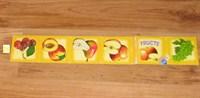 Carticica/brosura cu fructe, pentru copii (citeste descrierea)