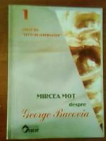 Carte cometarii poezii George Bacovia
