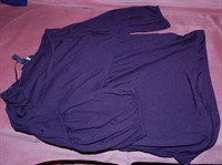 bluza H&M neagra XS/34 - nepurtata