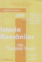 Bacalaureat Istoria Romanilor 100 variante finale