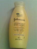 Johnson's Holiday Skin Body Lotion