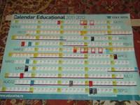 Calendar Educational 2011-2012