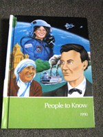 People to know - carte ilustrata pentru copii