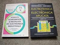 Doua manuale de electronica pentru liceu