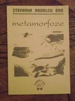 """Carte de poeme """"Metamorfoze"""" de Stefania Nedelcu Ene"""