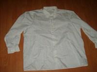 camasa alba cu dungi gri