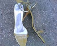 Sandale galbene foarte finute nr.38
