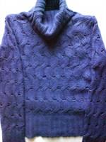 pulover albastru S,M