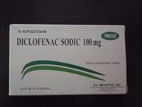 Diclofenac sodic 100 mg