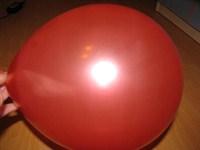 10 baloane rosii