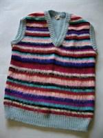 Vestuta cu dungi multicolore