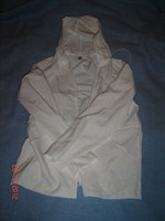 Bluza alba cu gluga