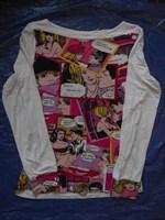 Bluza cu imprimeu Comics