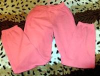 Pantaloni roz de trening