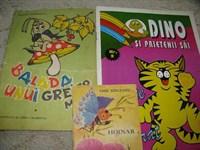 Carti colorat + carte mica poveste