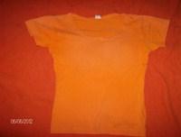 Tricou portocaliu marimea S